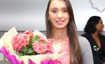 Karine da Silva Maringolo, do Sindicato da Alimentação de Araraquara