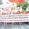 Trabalhadores da alimentação participam do Dia Nacional de Luta em Defesa dos Direitos e do Emprego