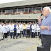 Entrega de uma Ambulância na Fábrica de Café Solúvel da Nestlé – Unidade Araras-SP