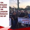Trabalhadores da Alimentação protestam após acidente com morte na Citrosuco em Matão