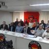Sindicalistas debatem temas trabalhistas com a presença do Ministro do Trabalho, Ronaldo Nogueira