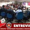 """Entrevistas no Encontro que discutiu """"Sustentação Financeira e Organização Sindical"""""""