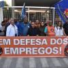 Confira os Vídeos da Manifestação em frente a BRF